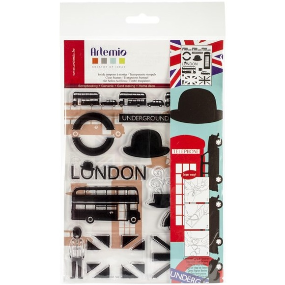 Artemio «Modern London» 12 Stamps Set